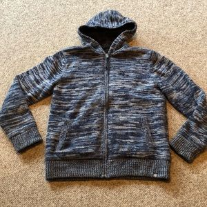 The North Face Knitted Cardigan hooded sweater L